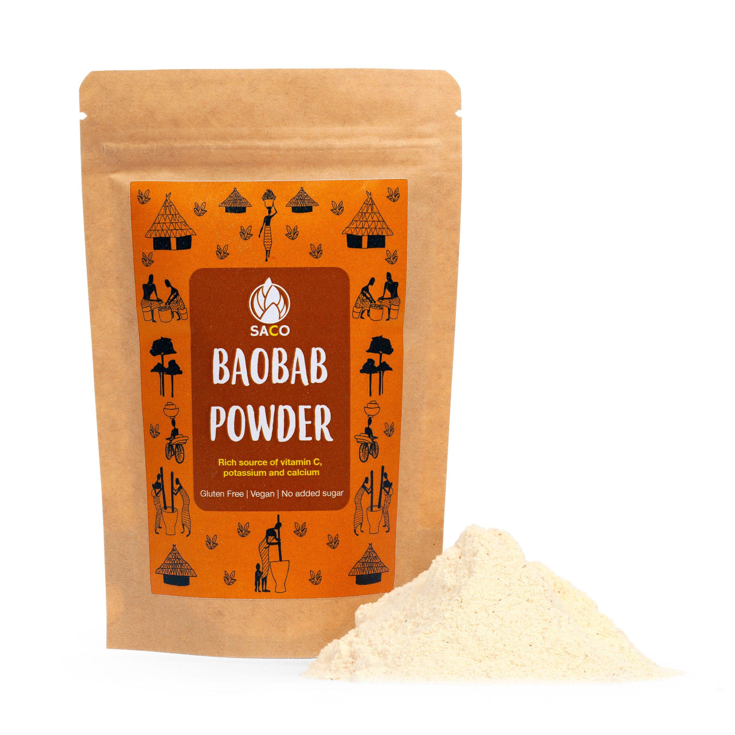 saco baobab powder