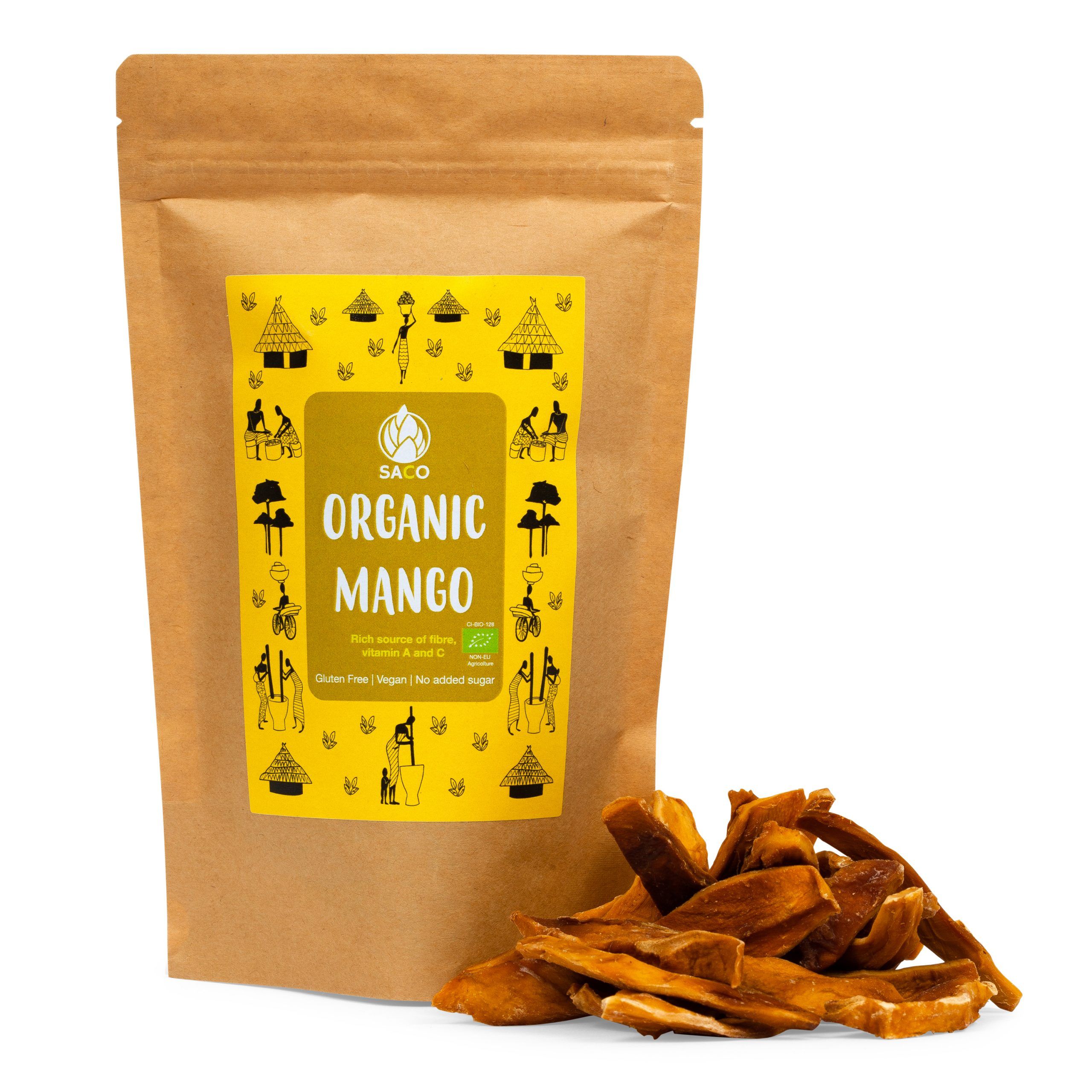 saco organic dried mango