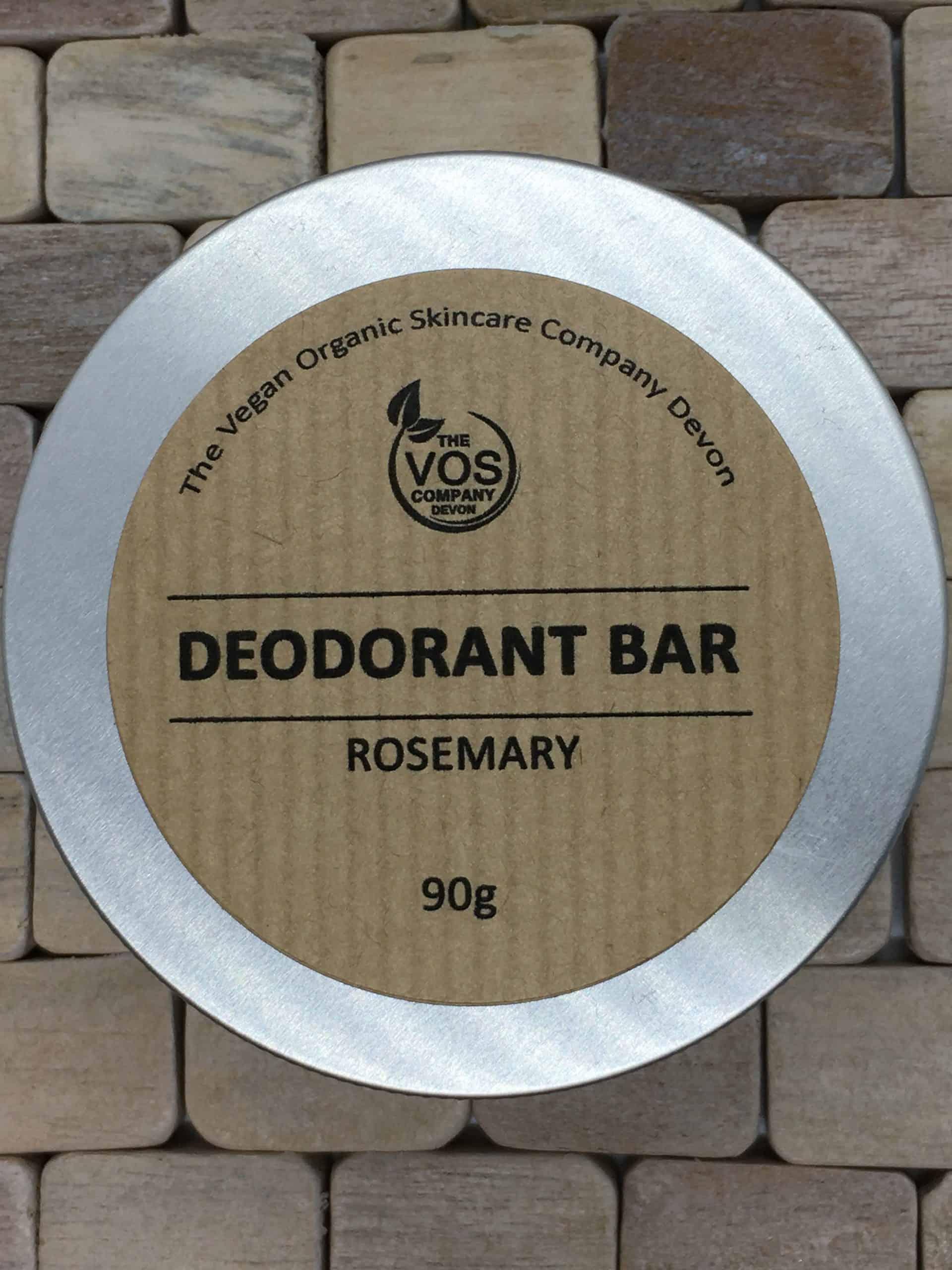 solid deodorant bar