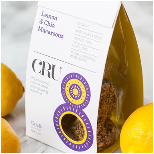 Chia Seed & Lemon Macaroons