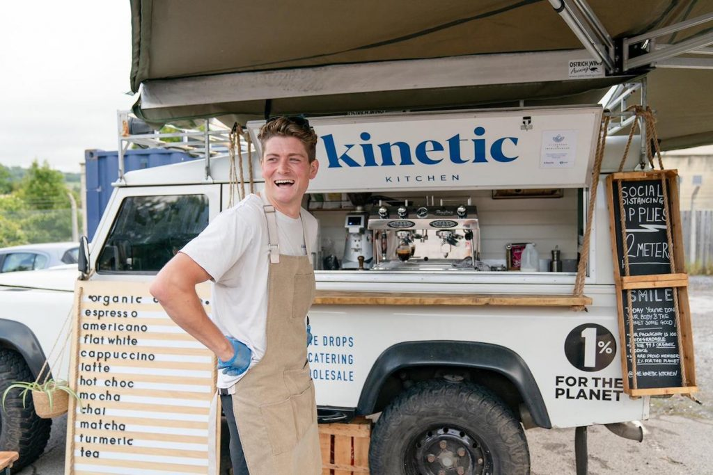 harry founder of kinetic kitchen
